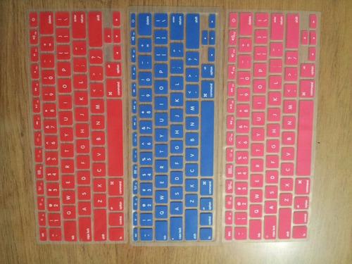 protector de teclado macbook (colores)