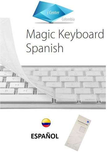 protector de teclado transparente  español imac  2015