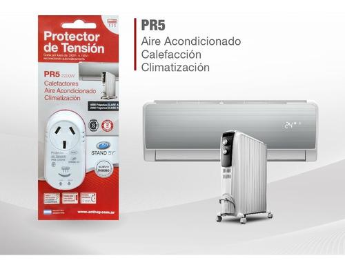 protector de tension  2200w stand by pr5 aire acondicionado