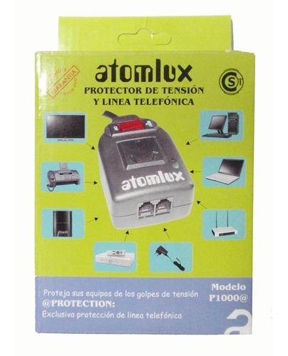 protector de tension atomlux p1000 celular notebook telefono