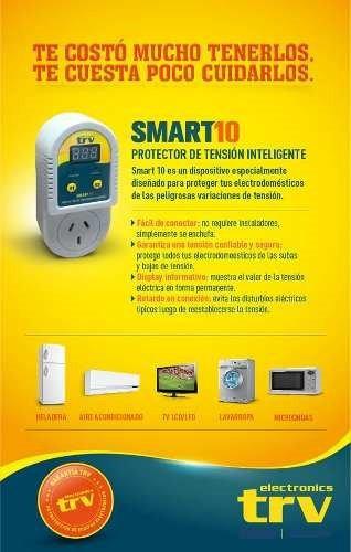 protector de tensión heladera led tv ps4 play 4 trv smart 10