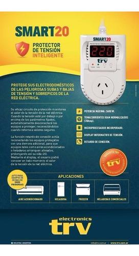protector de tensión inteligente trv smart 20 aire - frezeer