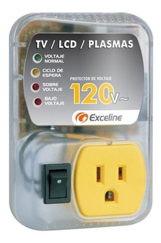 protector de voltaje 120v smart tv / 3d / led / lcd / plasma