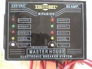 protector de voltaje 220v 80 amp integral en oferta¡bifasico