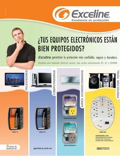protector de voltaje 220v aire/a nevera power plug exceline
