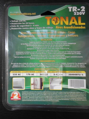protector de voltaje 220v aires acondicionados 35000 btu