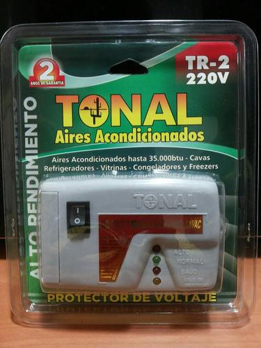 protector de voltaje 220v cable a cable
