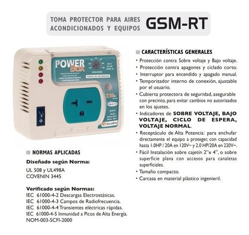 protector de voltaje 220v nevera aire acondicionado exceline