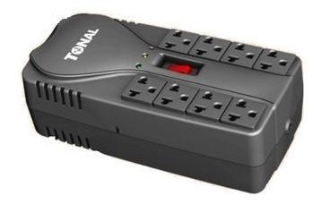 protector de voltaje 8 tomas computadora tv fotocopiadora pc
