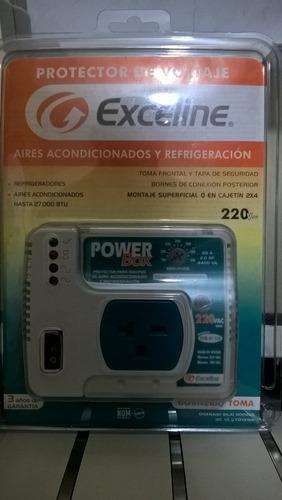 protector de voltaje aires acondic y refriger 110 y 220exce