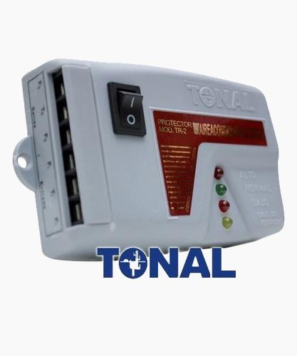 protector de voltaje aires acondicionados 220v cava tr-2 xtc
