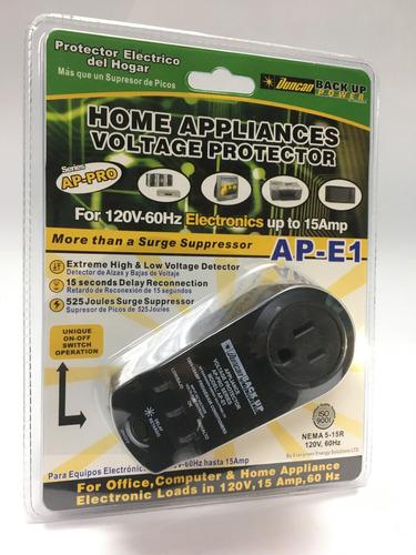 protector de voltaje duncan equipos electrónico
