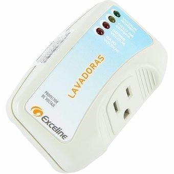 protector de voltaje exceline 110v lavadoras y neveras.