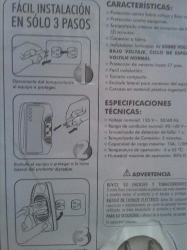 protector de voltaje exceline nevera/refrigeradores 110v