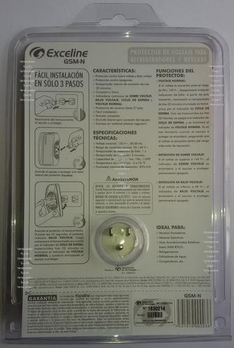 protector de voltaje exceline neveras frezer 3 años garantia