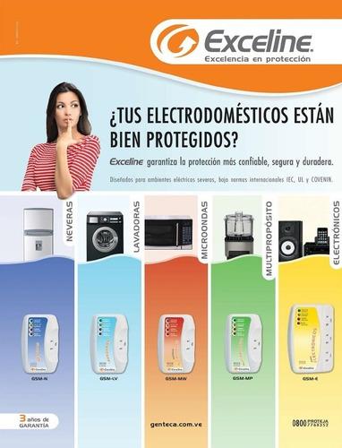 protector de voltaje exceline para lavadoras 120v