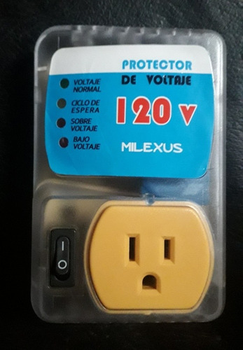 protector de voltaje marca: milexus de 110v con regulador