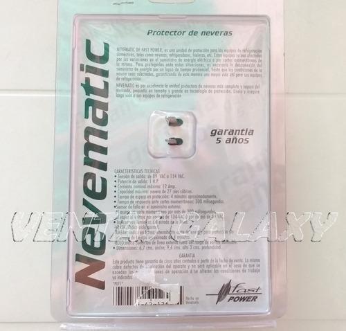 protector de voltaje nevera refrigeradores 110v nevematic