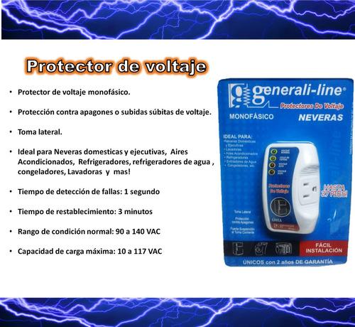 protector de voltaje para neveras, aires 110v