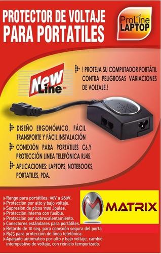 protector de voltaje para portatil -proteja su laptop