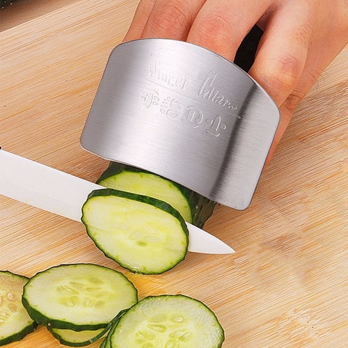 protector dedos cortar cuchillo, utencilio de cocina, chef