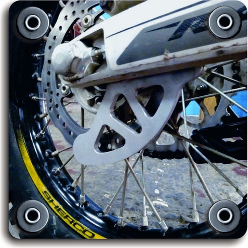 protector disco freno trasero ktm exc 250 2003-2015