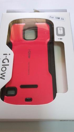 protector doble funda anti-shock i-glow moto e lte