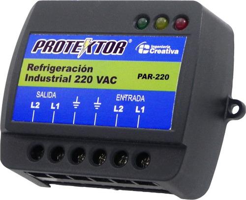 protector eléctrico industrial. 220v. regleta. (par-220)