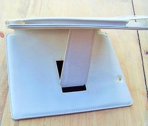 protector estuche estand  para ipad y otras tablets