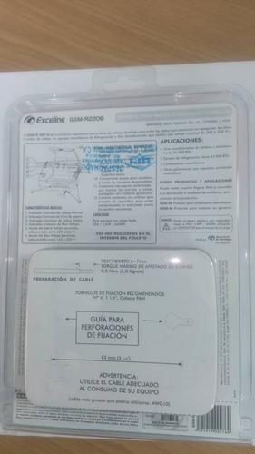 protector exceline 220v aire y refrigerador, gsm-r220b,