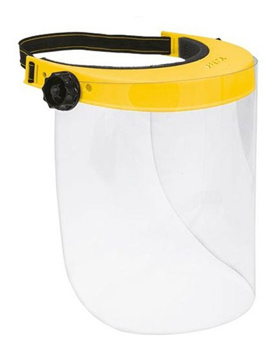 protector facial ajustable plastico pretul 26007