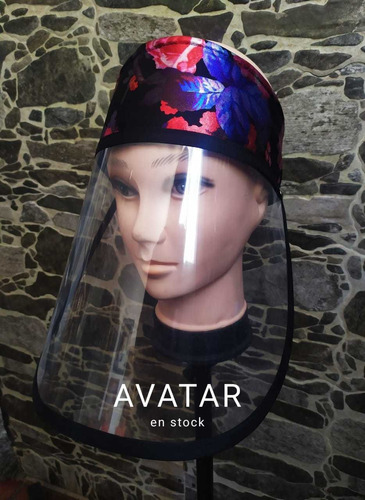 protector facial anti fluidos (diseños exclusivos)