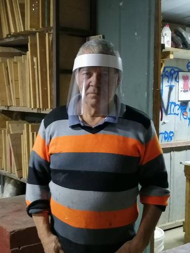 protector facial anti salpicadura