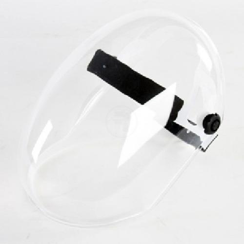 protector facial con arnés y cremallera mascara fravida 2020