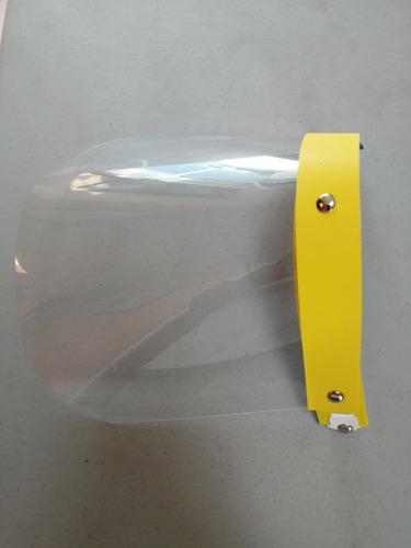 protector facial de mica de acetato calibre 7.   (50 piezas)