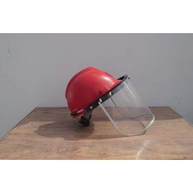 Protector Facial De Seguridad Careta Uso Con Casco