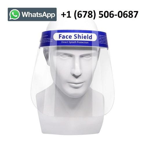 protector facial de seguridad, protector facial protector