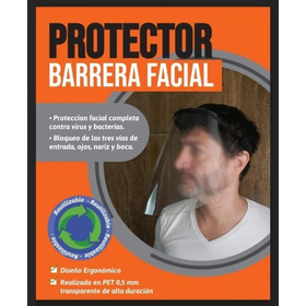 Protector Facial Mascara Reutilizable Barrera Sanitaria Mmk