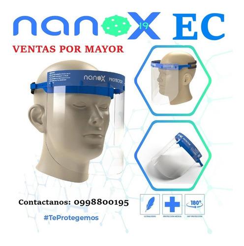 protector facial nanox coronavirus covid