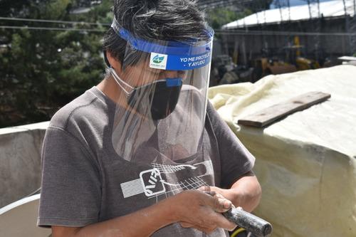 protector facial samariy 593 # yo me protejo y ayudo