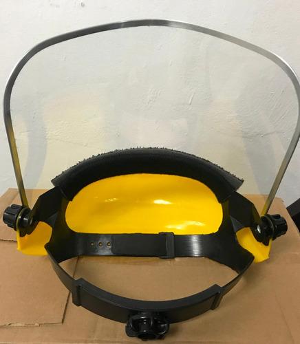 protector facial   semi casco