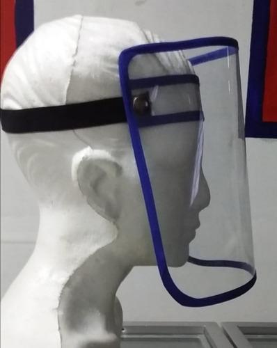 protector facial transparente  pvc