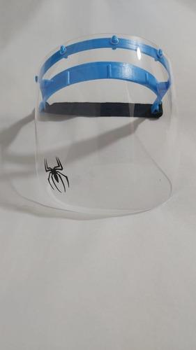 protector facial visor dach shield acril rigido adulto niño