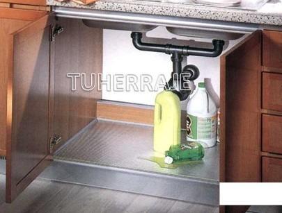 protector fondo aluminio fregadero 90cm  cocinas empotradas