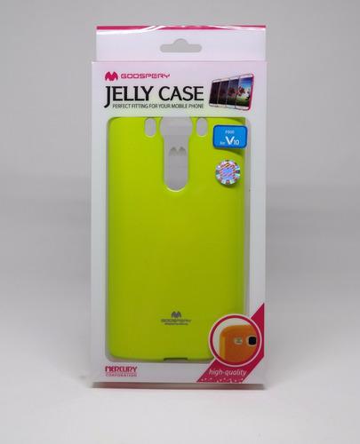 protector funda lg v10 mercury goospery jelly case limon