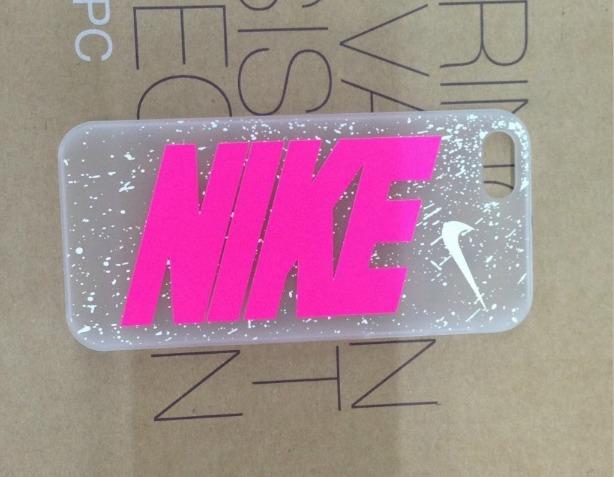 funda iphone 5s nike rosa