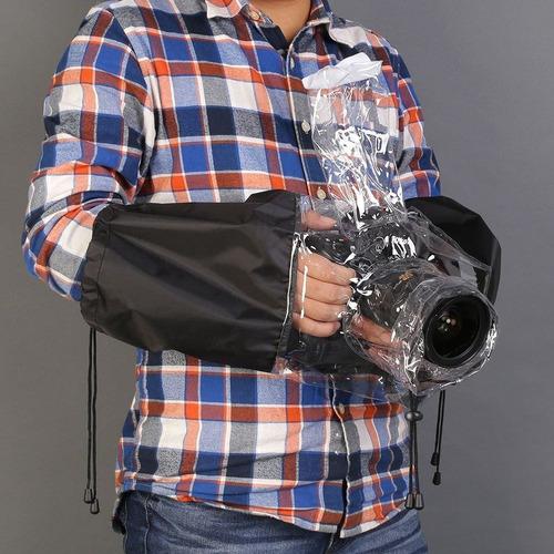 protector funda para lluvia cámaras universal envío gratis