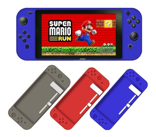 protector funda silicon nintendo switch varios colores