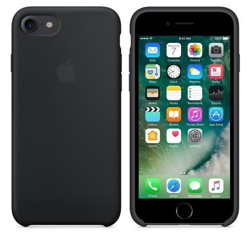protector funda silicone case iphone 7 8 y plus - sellado