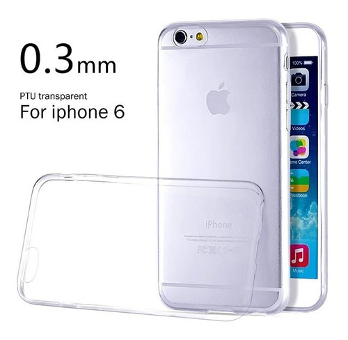 protector gel tpu iphone6 plus iphone 6  funda envios x moto